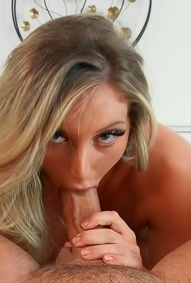 Kayley Gunner Gorgeous Blonde With Big Tits Bouncing On A Huge Dick